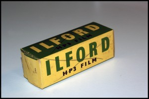 Ilford HP3 formato 120