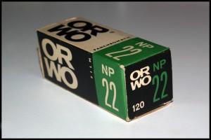 Orwo NP22 formato 120