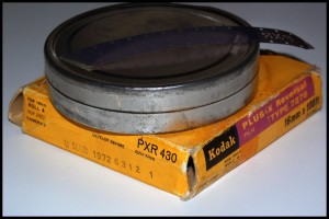 Bobina 16mm DP di Plus-X reversal